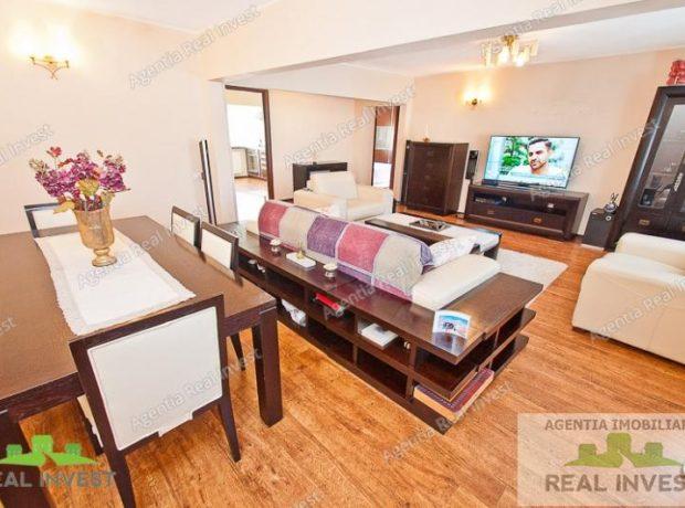 Apartament 3 camere mobilat si utilat lux de vanzare pe Nae Leonard