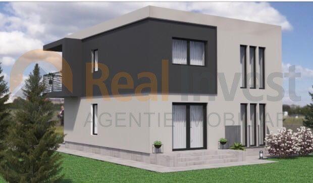 Vila noua de vanzare cu 4 camere in zona Metro