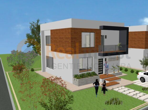 Vila noua de vanzare cu 4 camere in Sat Costi